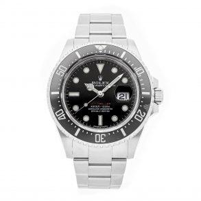Orologio Da Uomo Tondo In Acciaio Rolex Rolex Sea-dweller 4000 126600 Nero