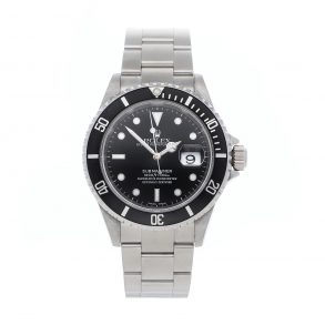 Quadrante nero Replica Rolex Submariner 16610 Cassa 40mm in acciaio inossidabile