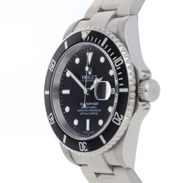 Quadrante nero Replica Rolex Submariner 16610 Cassa 40mm in acciaio inossidabile