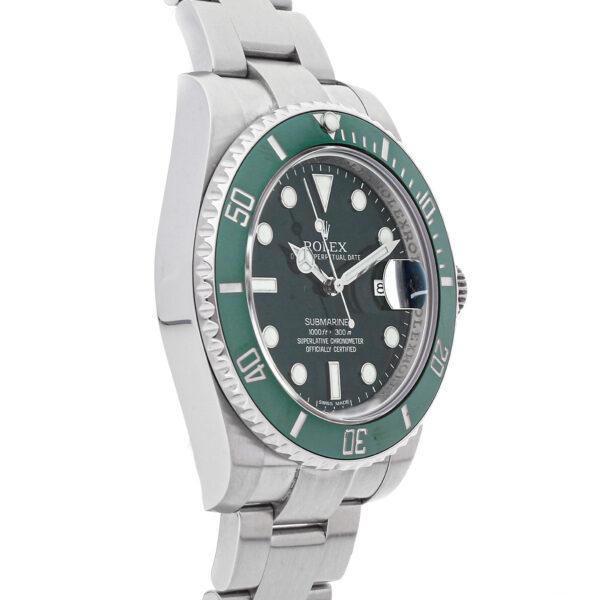 Orologio da uomo Replica Rolex Submariner Hulk in acciaio inossidabile 116610lv