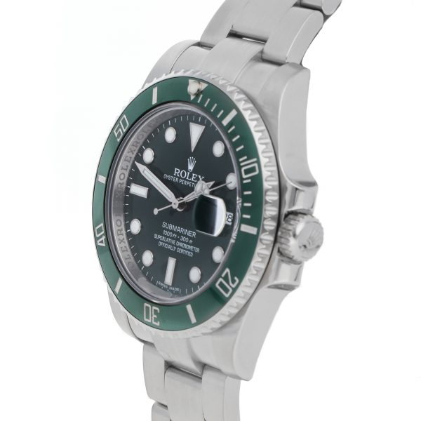 Rolex Submariner Hulk Da Uomo In Acciaio Inossidabile 116610lv Replica Verde