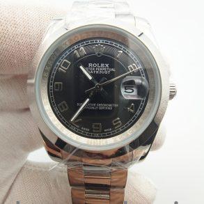 Rolex Datejust 116200 Orologio automatico da 36 mm in acciaio inossidabile nero 904L