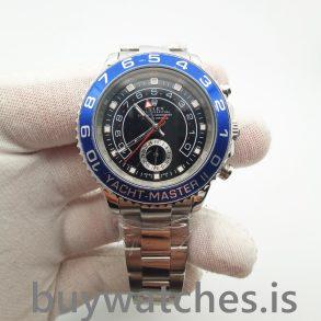Rolex Yacht-Master 116680 Orologio automatico da uomo in acciaio nero da 44 mm