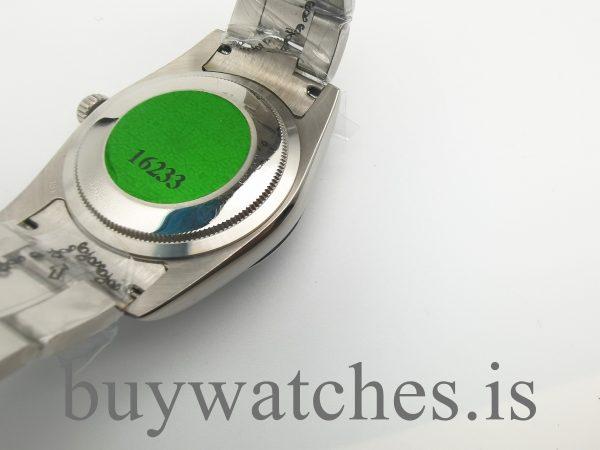 Rolex Datejust 126300 Orologio da uomo 41 quadrante argentato
