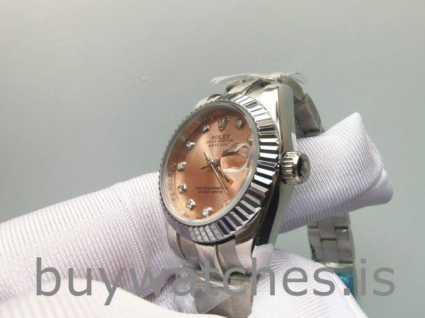 Rolex Datejust 178271 Orologio da donna in acciaio con diamanti e oro Eve