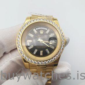 Rolex Day-Date 228348RBR Oro 18k con diamanti 40 mm automatico