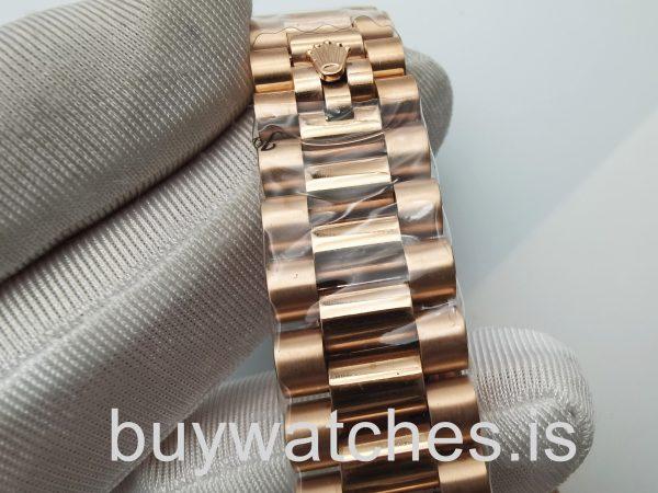 Rolex Datejust 4467 Orologio automatico unisex da 36 mm in oro rosa 18 carati