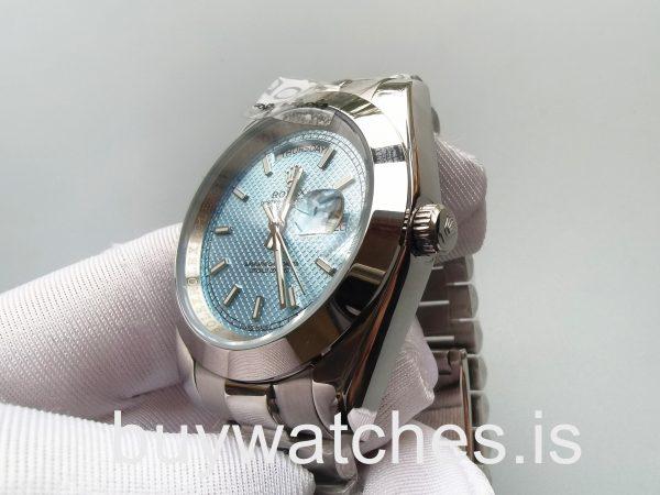Rolex Day-Date 228206 Orologio da uomo in acciaio automatico blu da 40 mm