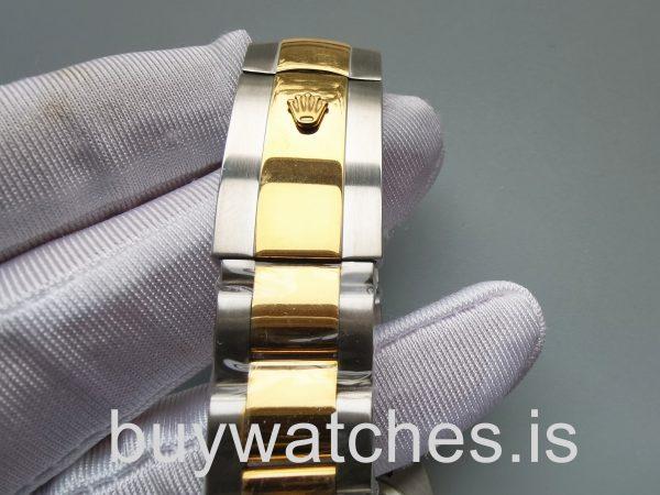 Rolex Datejust 126303 Orologio automatico in acciaio nero da 41 mm