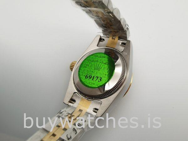 Rolex Datejust 179173 Orologio automatico in acciaio oro da 26 mm da donna