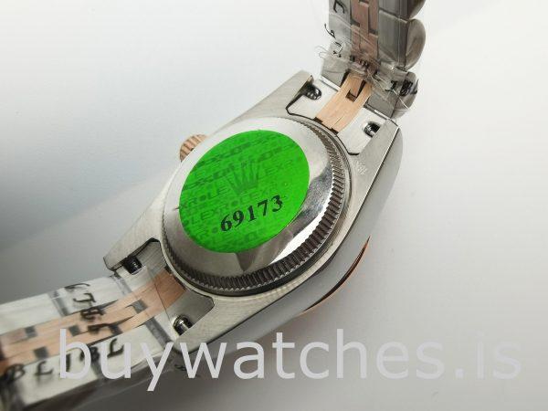 Rolex Datejust 278271 Orologio automatico da donna in acciaio oro rosa da 31 mm