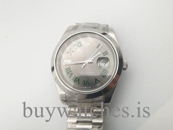 Rolex Datejust 126300 Orologio automatico unisex 41 mm grigio acciaio