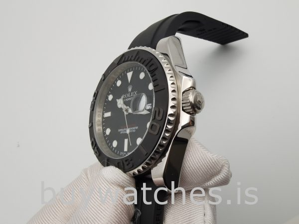 Rolex Yacht-Master 226659 Orologio automatico pieghevole da uomo nero da 42 mm