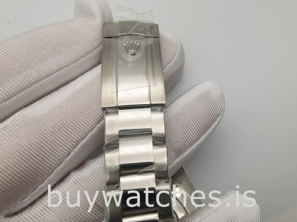Rolex Air-king 116900 Orologio automatico da uomo in acciaio nero da 40 mm