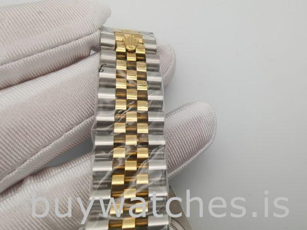 Rolex Datejust 116233 Orologio automatico da donna in acciaio bianco da 36 mm