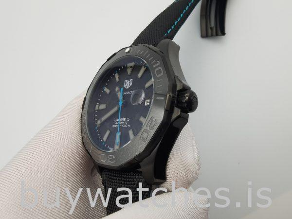 TAG Heuer Aquaracer WBD218C.FC6447 Orologio automatico in nylon nero da 41 mm