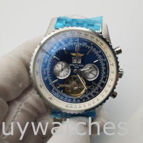 Breitling Navitimer A24322 Orologio automatico da uomo con quadrante blu da 46 mm