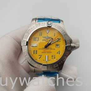 Breitling Avenger Seawolf A17331101 I1A1 Orologio da uomo giallo da 45 mm