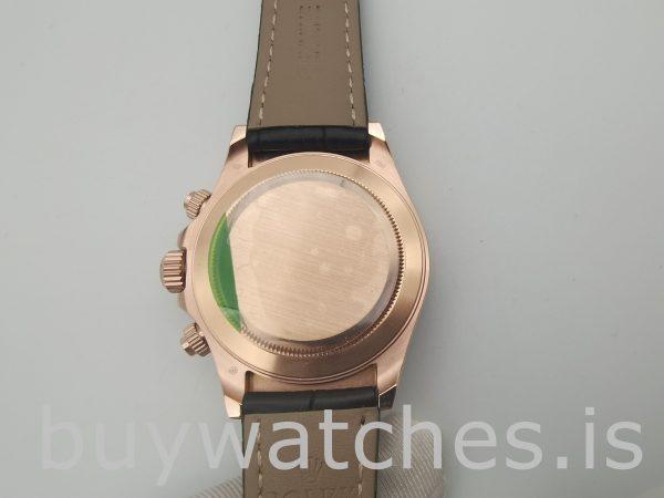 Rolex Daytona 116515 Orologio con quadrante color cioccolato da 40 mm in pelle