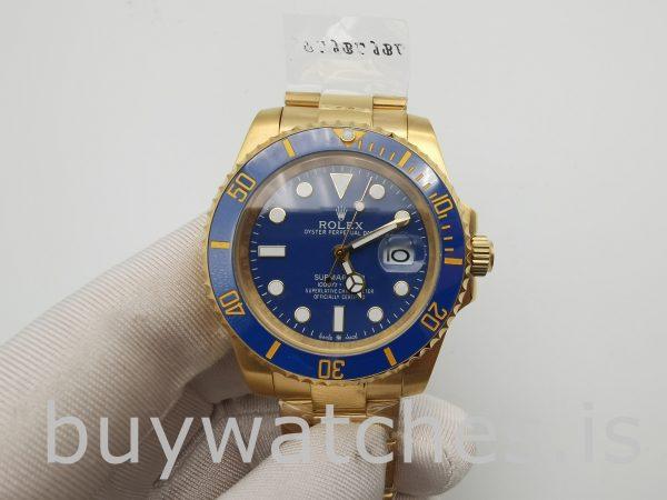 Rolex Submariner 116618LB Orologio da uomo con quadrante blu da 40 mm