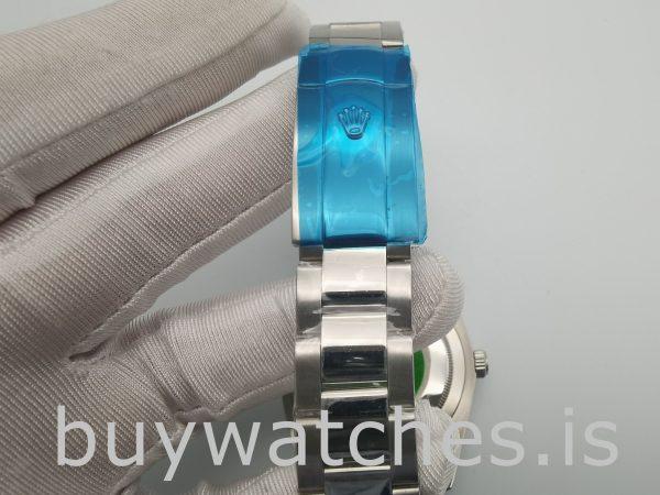 Rolex Datejust 4770 Orologio da uomo bianco da 41 mm con numeri romani