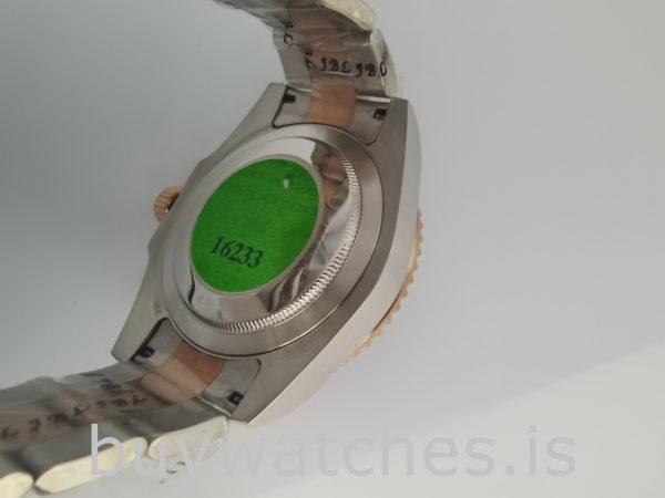 Rolex GMT-Master 126711 Orologio da uomo con quadrante nero in acciaio da 40 mm