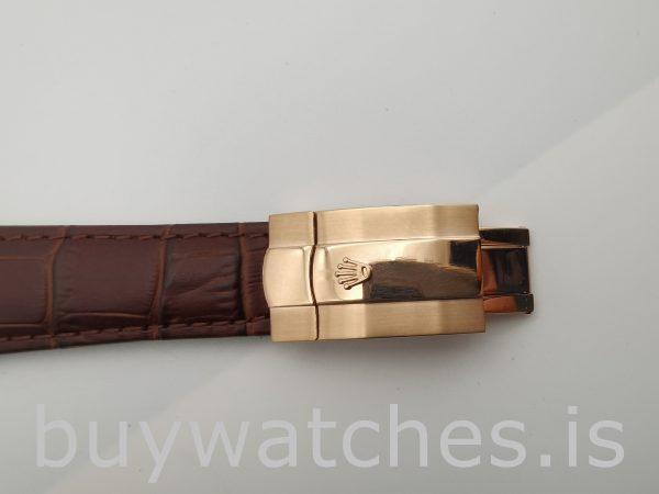 Rolex Sky-Dweller 326135 Orologio automatico marrone solido bianco da 42 mm