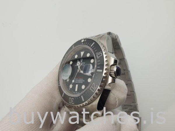 Rolex Sea-Dweller 126600 Orologio svizzero rotondo in acciaio nero da 43 mm