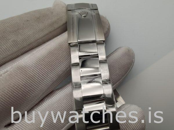 Rolex Datejust 116300 Orologio da uomo in acciaio con quadrante bianco da 41 mm