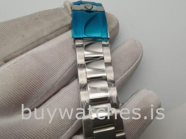 Rolex Daytona Orologio 40 mm da donna con quadrante nero e lunetta in diamanti