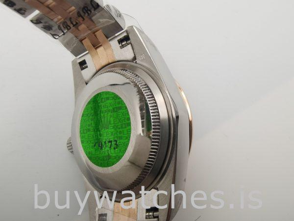 Rolex Datejust 178271 Orologio unisex con quadrante floreale rosa da 31 mm
