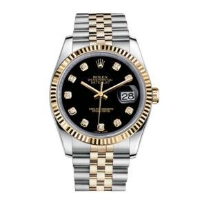 Rolex Datejust 116233 Orologio unisex da 36 mm in oro giallo 18 carati