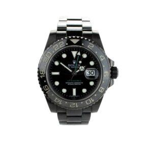 Rolex GMT Master II 116710 Orologio da uomo in acciaio nero da 40 mm