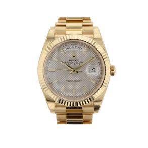 Rolex Day-Date 228238 Orologio automatico Sapphire 40 mm in oro giallo