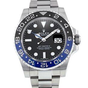 Rolex GMT-Master II 116710 Orologio da uomo con quadrante nero da 40 mm