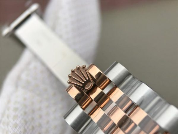 Rolex Datejust 116231 Replica Orologio da donna con quadrante in oro rosa da 36 mm