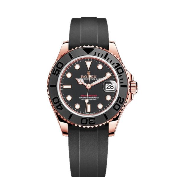 Rolex Yacht-Master 268655 Orologio unisex con quadrante nero da 37 mm